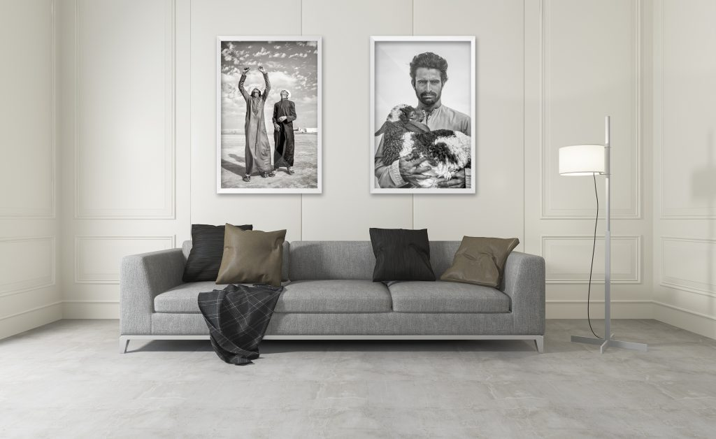 Yiannis Roussakis photos in living room