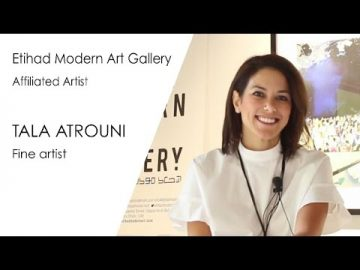 Tala Atrouni: Where do you find inspiration for your painting?